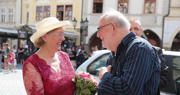 Zlatá svatba Františka Nedvěda: Jan Nedvěd
