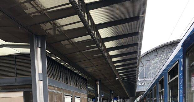 Praha - hlavní nádraží.