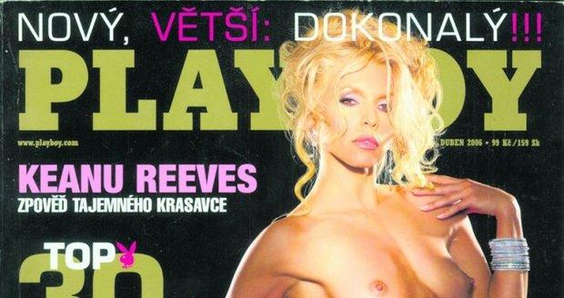 Eva Jeníčková na obálce Playboye