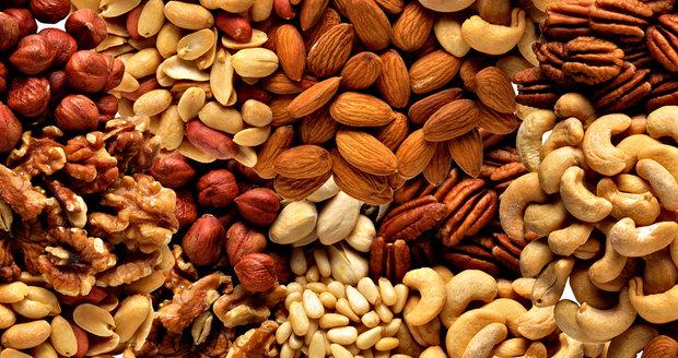 Ořechy působí blahodárně na funkci srdce.