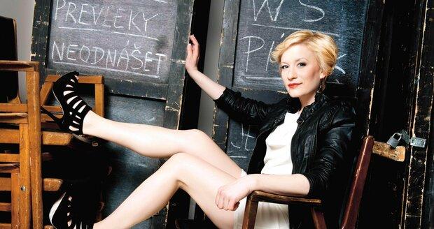 Helena Dvořáková je hlavně divadelní herečka.