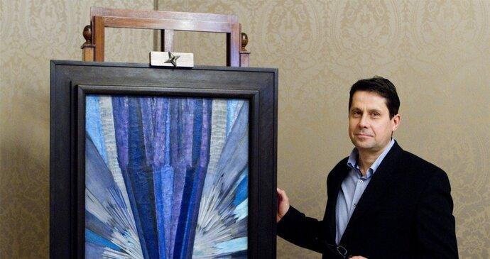 059131cf786 Nejdražší český obraz všech dob Tvar modré se vydražil za 55 milionů ...