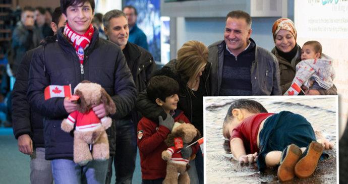 Příbuzní utonulého chlapce dorazili do Kanady.