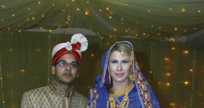 Randí s bangladéšským chlapem