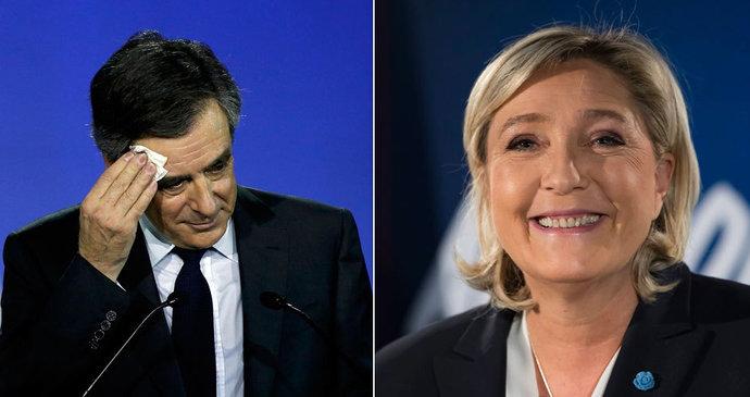 73f121de9ab Soupeři Le Penové  Expremiéři v úzkých. Fillon hasí skandál s ...