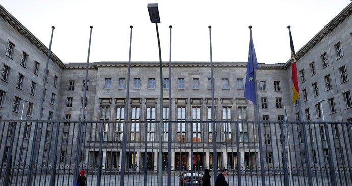 Německé ministerstvo financí v Berlíně 71ef0f7dadd