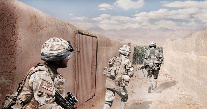 Seznamka zraněných vojáků