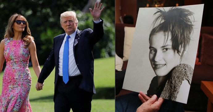 První dáma USA Melania Trumpová pochází ze Slovinska. Dříve se živila i  jako modelka ( c523b75fd6