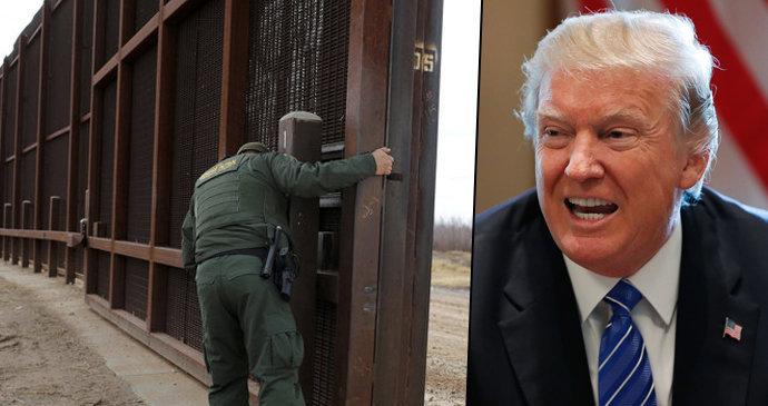 Výsledek obrázku pro foto trump mexiko zeď