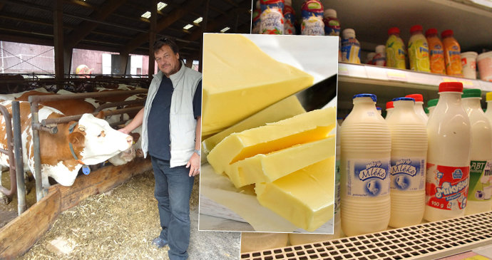 Zemědělci zuří kvůli drahému máslu  Odírají nás všechny 54562a3e99