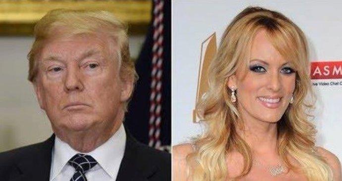 Donald Trump Aoherecka Stormy Daniels Aka Stephanie Cliffordova