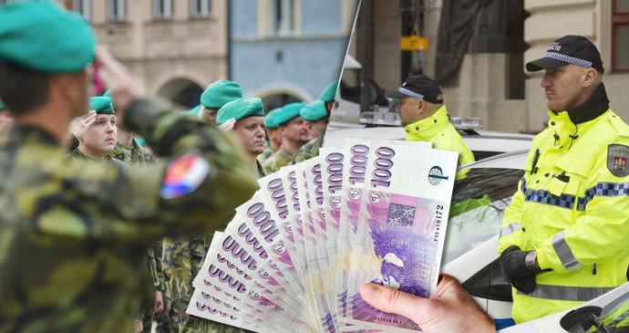 150 tisíc pro nové policisty, 50 tisíc pro učitelky i popeláře. Kde vám zaplatí za nástup?