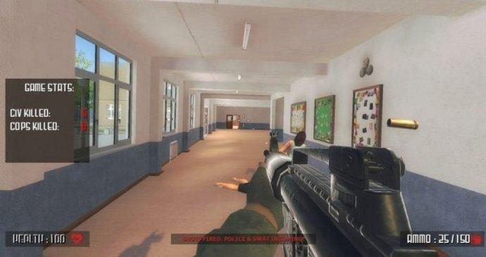"""06454313d Vystřílejte si vlastní školu, láká nová počítačová hra. """"Příšerné ..."""