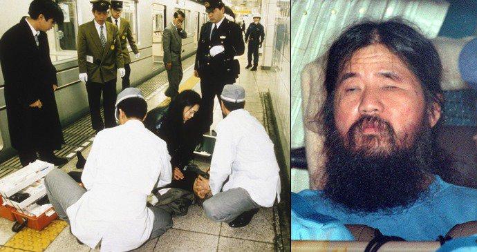 Výsledek obrázku pro 24. výročí útoku nervovým plynem sarinem na tokijské metro