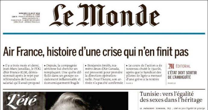 f5420819c Křetínský koupil polovinu vydavatele deníku Le Monde. Francouzi jsou ve  střehu   Blesk.cz
