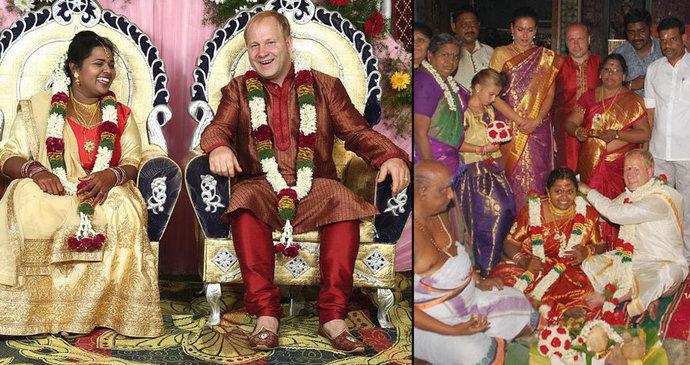 druhé manželství z Indie