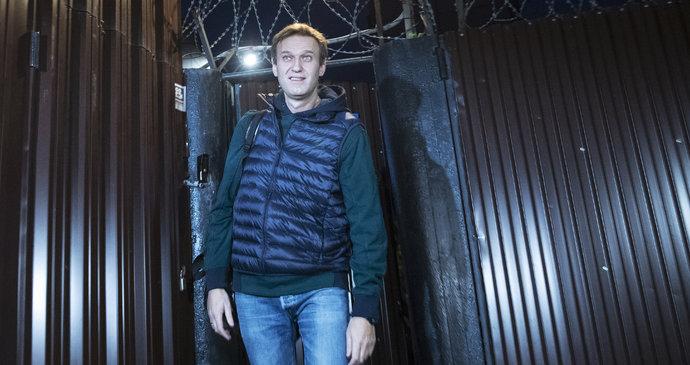 Putinův kritik Navalnyj je volný. Vůdce ruské opozice strávil ve ... 4557a54224