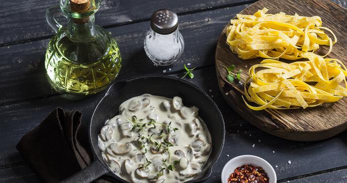 Recept na vynikající houbovou omáčku: Nejlepší je ze sušených hub
