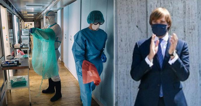 Směšné odměny do první linie: Pro doktorky 35 korun místo pětistovky, pečovatelky čekají