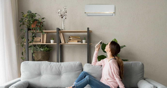 Letos si doma konečně dopřejte příjemné klima