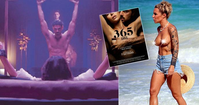 Autorka erotického hitu 365 dní se nestydí: Necudná spisovatelka Blanka nahoře bez!