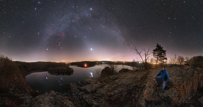 Úchvatná podívaná na nebi: Vyhlížejte zvířetníkové světlo! Jde to i přes zákaz vycházení