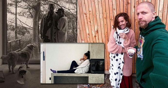 Tomáš Klus s manželkou Tamarou po 6 letech dostavěli hnízdečko ze dřeva a betonu: Mají i pec!