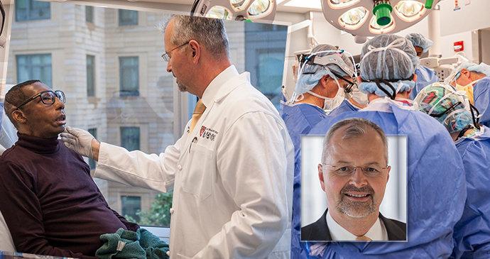 Špičkový chirurg Bohdan Pomahač oslavil narozeniny: V USA jako první transplantoval obličej