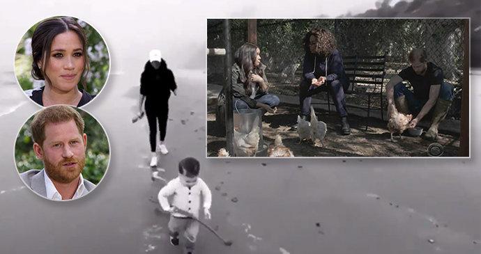 Meghan a Harry propálili soukromé fotky Archieho (1): Malý vlastník »slepičího hotelu«!
