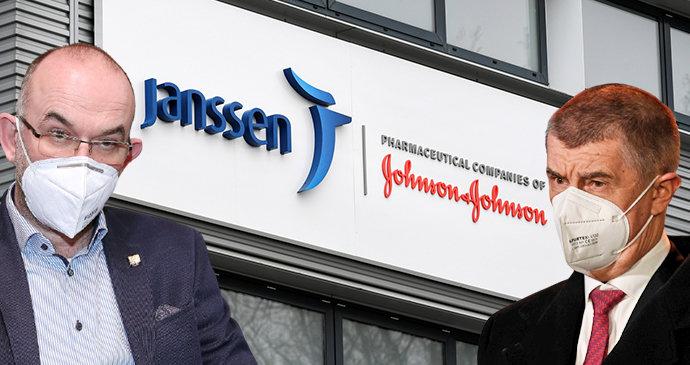 Vakcíny Johnson & Johnson v dubnu nepřijdou, tvrdil Babiš. Dorazí 40 tisíc dávek, oponuje Blatný