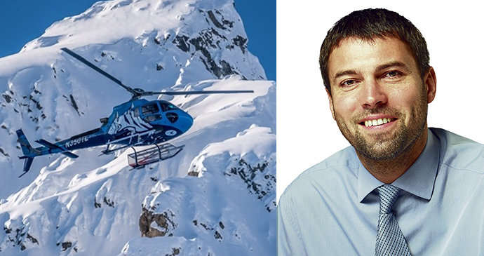 Špatné počasí, nebo technické potíže? Vyšetřovatelé řeknou, proč havaroval vrtulník a Kellnerem (†56)