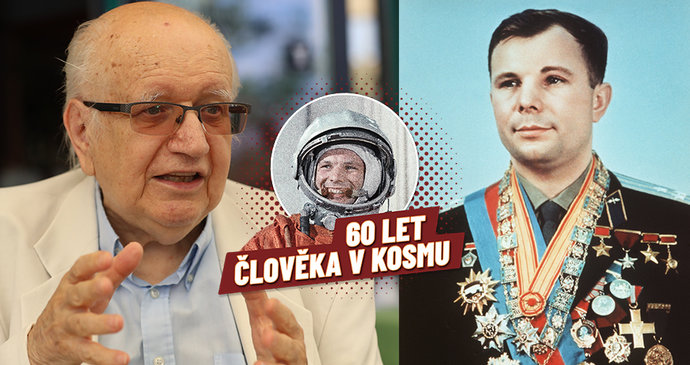 Rozhovor s Gagarinem: Stroj bez ducha, vzpomínal na prvního kosmonauta Karel Pacner (†85)