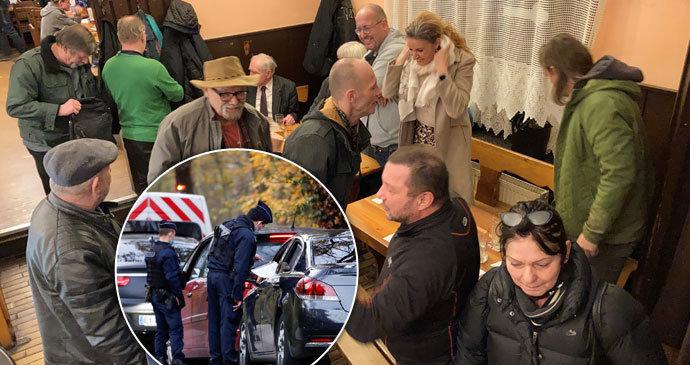 Policie pokutovala 110 hostů v nelegálně otevřené restauraci, manažer v Paříži šel za mříže