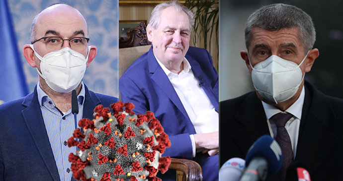 Babiš a Zeman v boji s pandemií pohořeli, Blatnému se dařilo, tvrdí průzkum