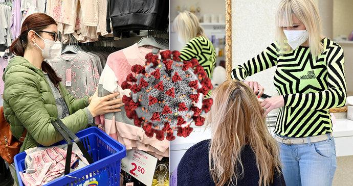 Koronavirus ONLINE: Obchody otevřou, kadeřnice budou mít dál smůlu? Prymula je proti