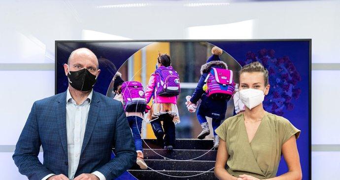 Vysíláme: Ministr Plaga o rozvolnění škol, maturitách i sporu s Babišem