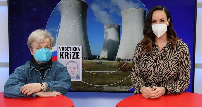 Vysíláme: Dana Drábová o tendru na Dukovany a kauze Vrbětice. Jak (ne)bezpečný je Rusko partner?