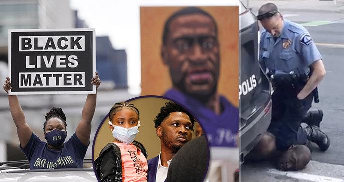 """""""Můžeme volně dýchat."""" Po rozsudku se ulevilo i dívce, která natočila vraždu Floyda"""