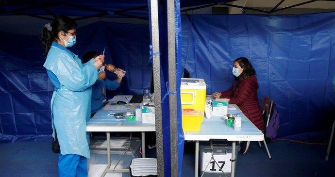 Coronavirus vaccination in Chile