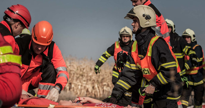 Trauma mezi hasiči: Zásahy s malými dětmi jsou jedny z nejtěžších, vysvětluje psycholog
