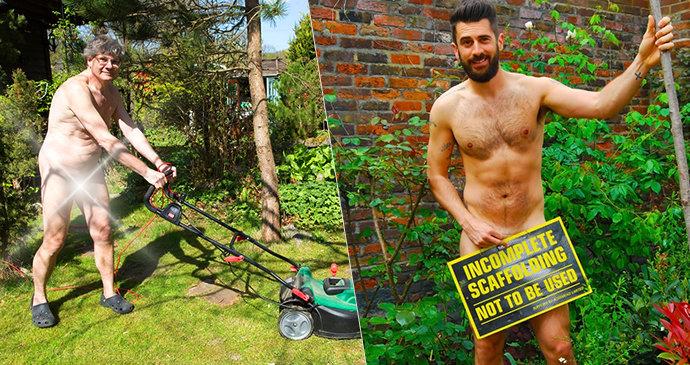 Zahradníci a zahradnice odloží šaty a pustí se do přesazování: Nadešel Den nahého zahradničení