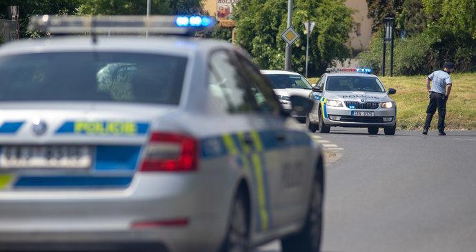 Velká nehoda dálnici D35: Nabouralo tam do sebe pět aut