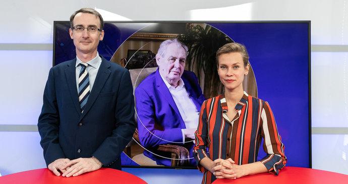 Vysíláme: Je Zeman schopný vykonávat prezidentský úřad? Ústavní právník o článku 66 a jeho úskalích