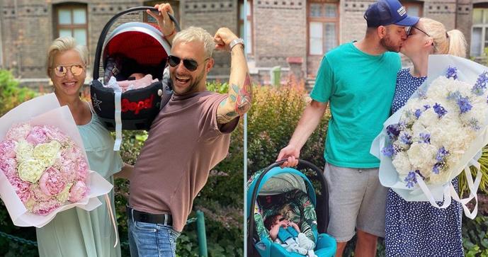 Pártlová i Štíbrová jsou z porodnice pryč: Den otců oslavili doma!