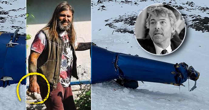 Jediný přeživší pádu helikoptéry s Kellnerem (†46) David Horváth: Boj o záchranu ruky!