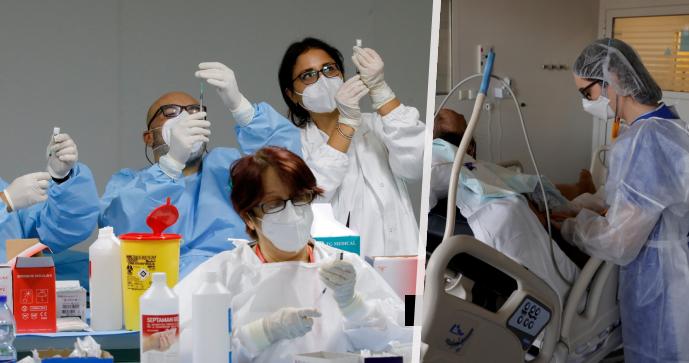 """Odpírače očkování čeká neplacené volno. Itálie """"zametla"""" s tisícovkami doktorů a sester"""