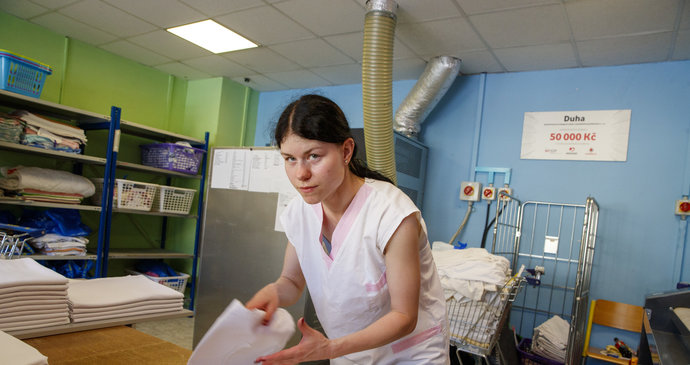 Zuzaně (28) s psychickými problémy pomáhá Duhová prádelna! Pandemie ale vzala zakázky