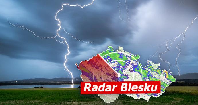 Extrémně silné bouřky v Česku ONLINE: Na Písecku strom zabil dva lidi. Sledujte radar Blesku