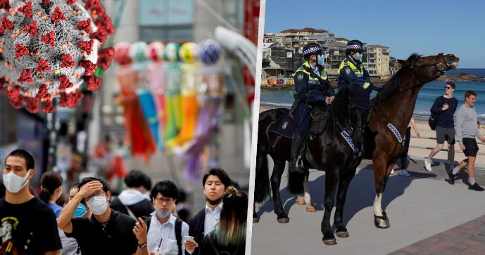 Olympijské Japonsko má přes 10 000 tisíc nakažených za den. A lockdown v Sydney ohlídá armáda