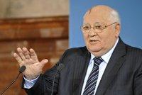 Gorbačov má zdravotní potíže: Skončil v nemocnici!